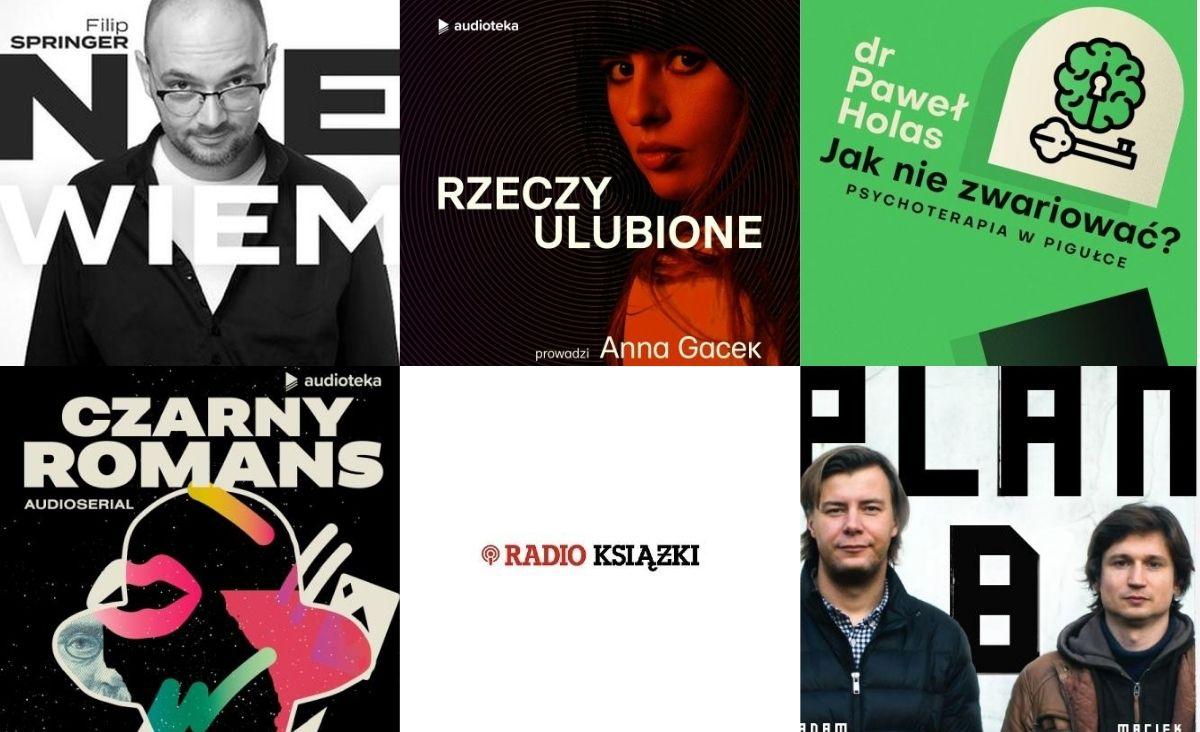 Jakich podcastów słuchamy na wakacjach? Top10 podcastów w Audiotece