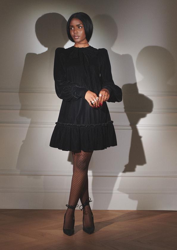 Mroczny glamour i nieskrępowanakobiecość - kolekcja The Vampire's Wife x H&M
