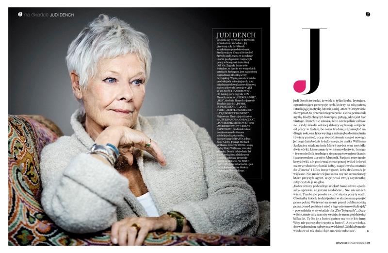 Judi Dench: dama z tatuażem