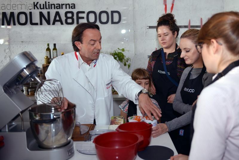 Ekskluzywne warsztaty kulinarne z Michelem Moran