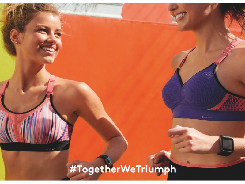 Edyta Litwiniuk nową ambasadorką kolekcji sportowej Triaction By Triumph!