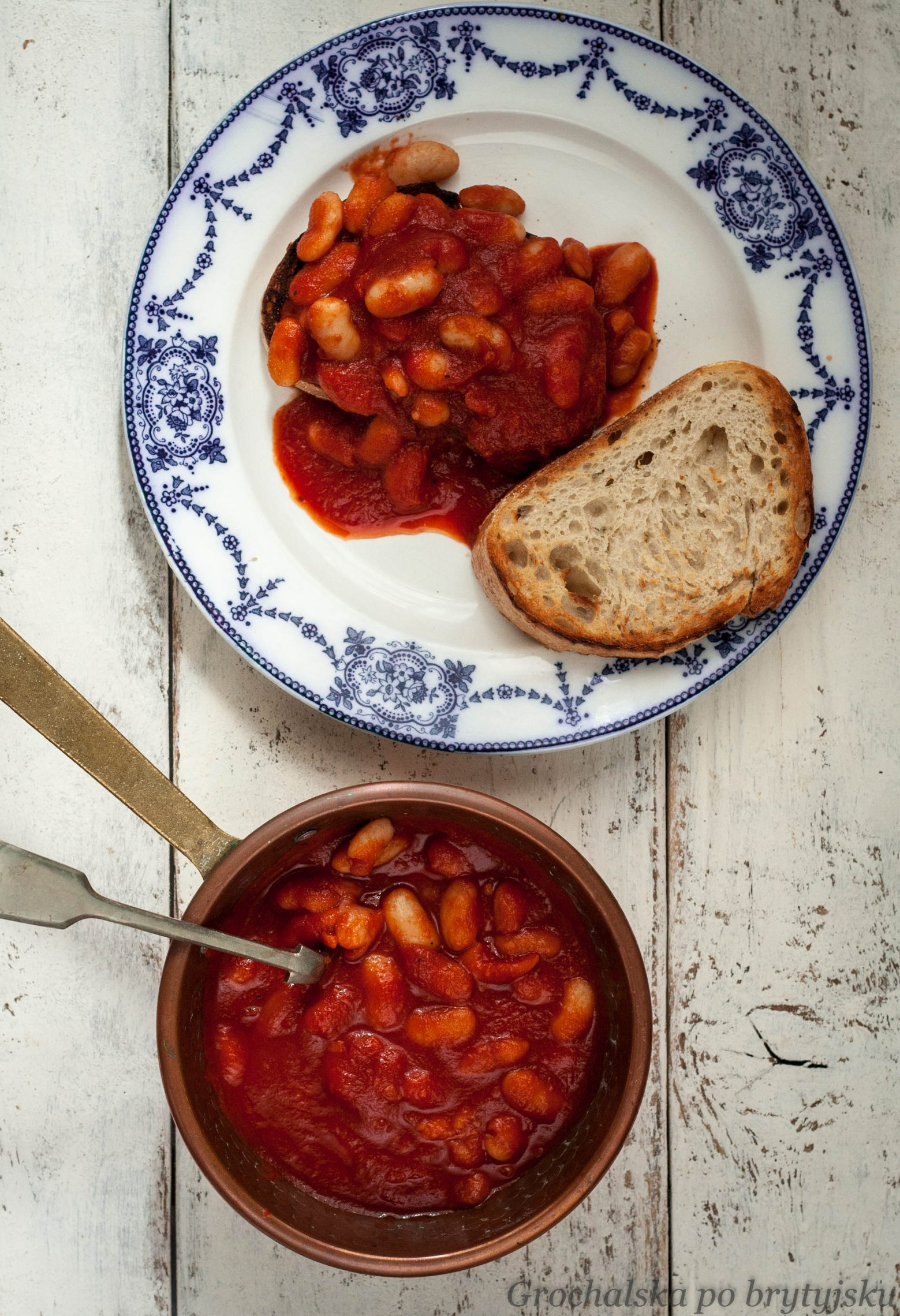 Grochalska po brytyjsku: Baked beans - fasolka w sosie pomidorowym