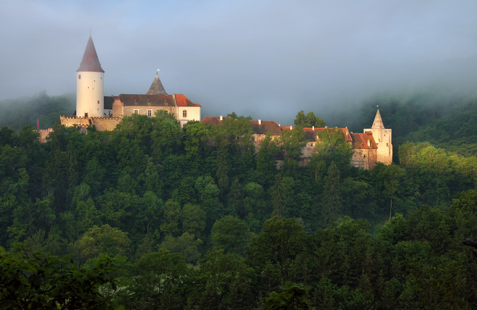 Czeskie zamki, które nigdy nie zostały zdobyte