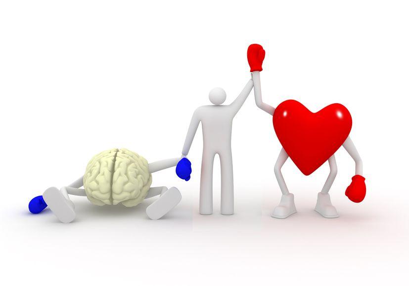 Siła serca przekracza siłę umysłu