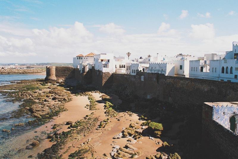 Asila - urocze miasteczko nad brzegiem oceanu