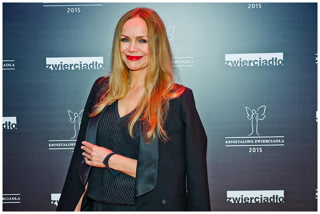 Aktorka Monika Krzywkowska