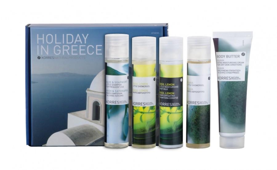 Greckie wakacje w kosmetyczce