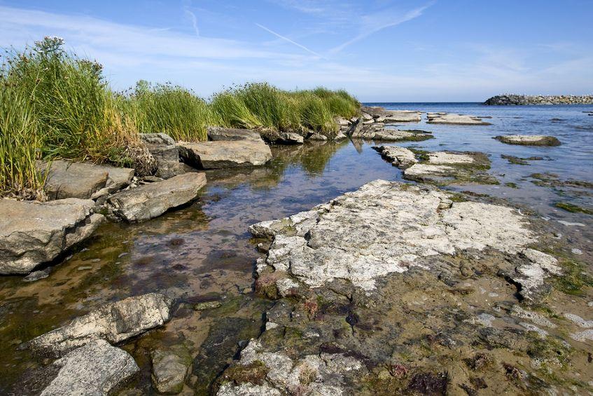 123RF.com / Snogebæk, plaża na Bornholm