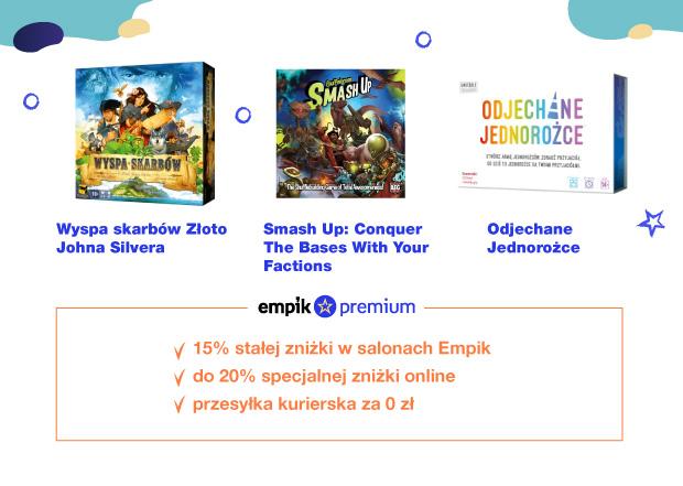 Nowe gry planszowe – co kupisz taniej z Empik Premium?