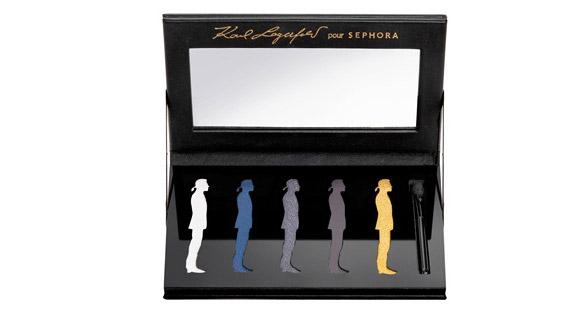 Makijaż od...Lagerfelda