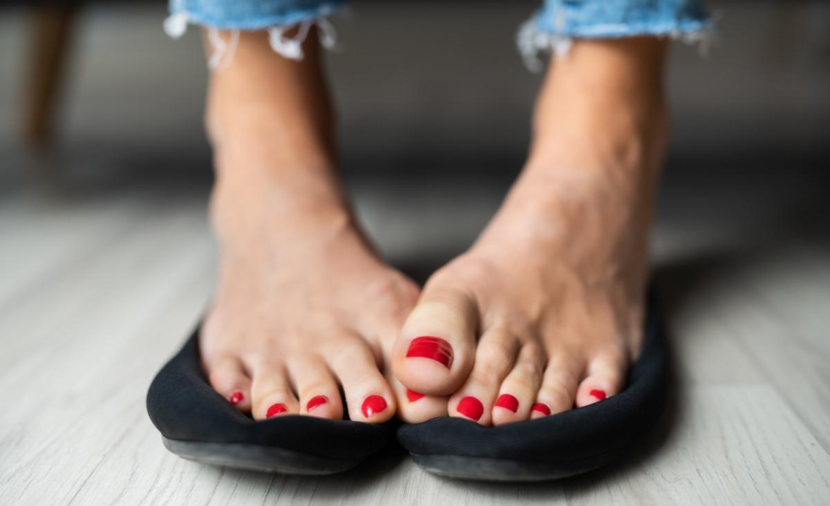 Kiedy stopy chorują, całe ciało traci równowagę