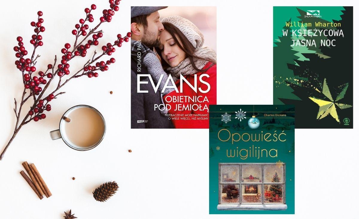 Książki świąteczne - idealne na święta Bożego Narodzenia