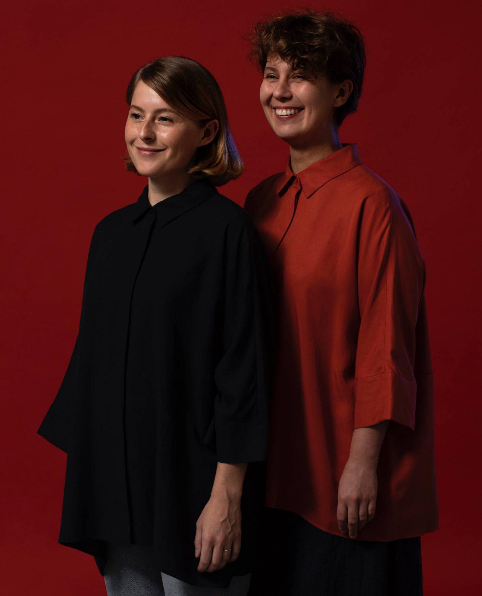 Na zdjęciu: Anna Tobor oraz Agnieszka Małachowska – założycielki marki TOBO + MALA. (Fot. Materiały prasowe)
