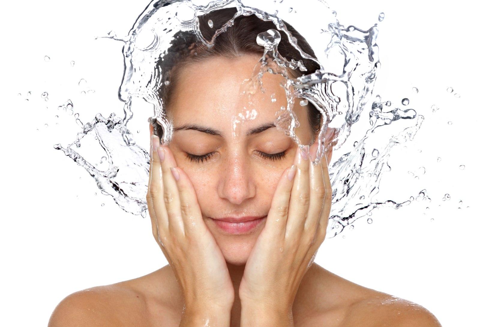 Pielęgnacja skóry - oczyszczenie twarzy