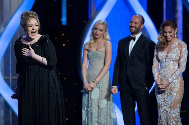 Adele, Złote Globy