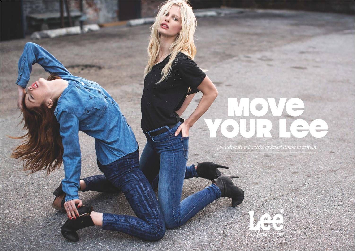 Move your Lee: nowa kampania wyjątkowej marki