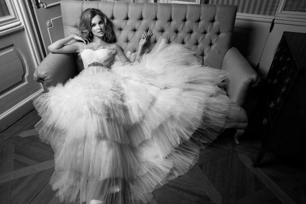 Wyjątkowe suknie ślubne od Macieja Zienia