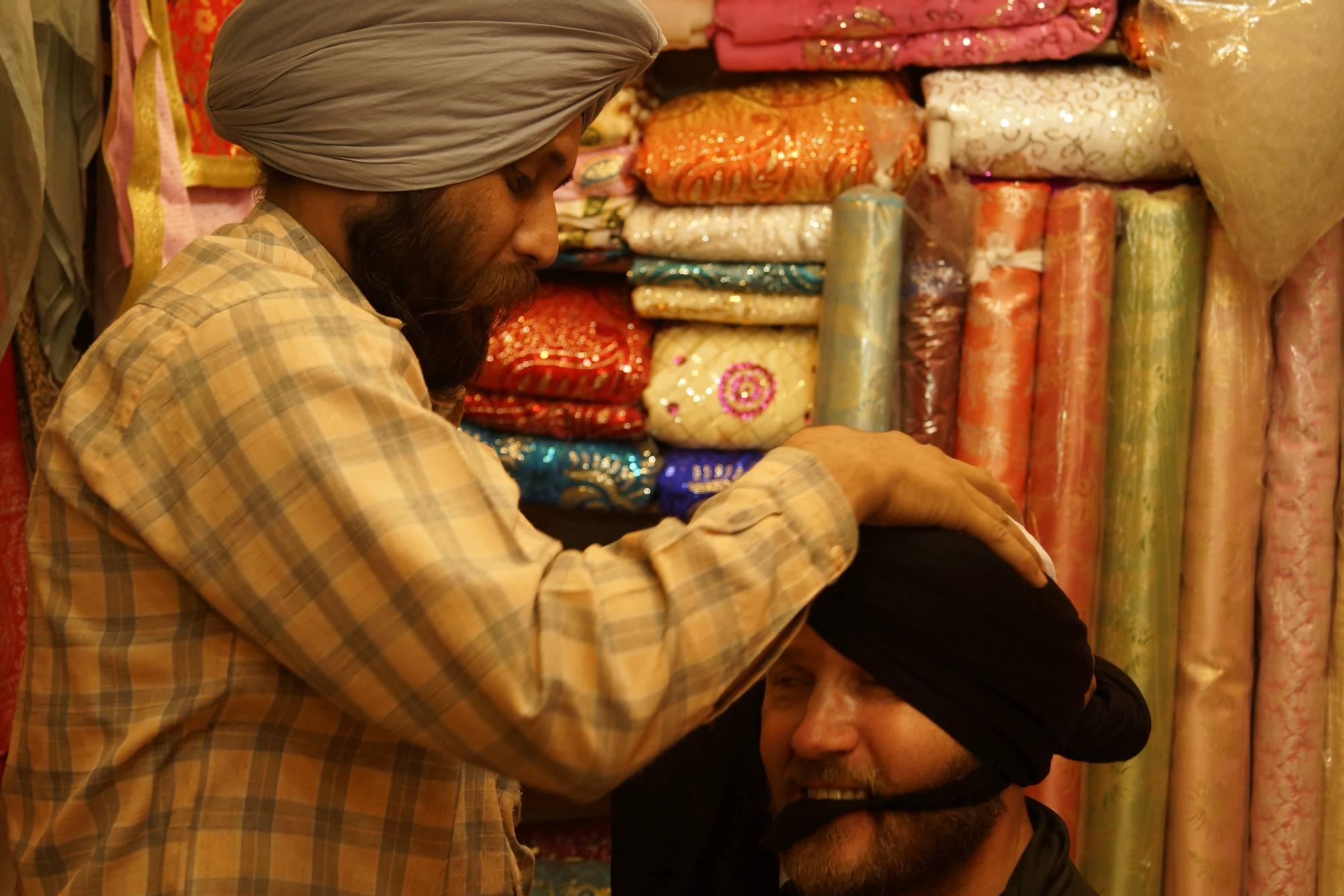 Mój pierwszy turban…