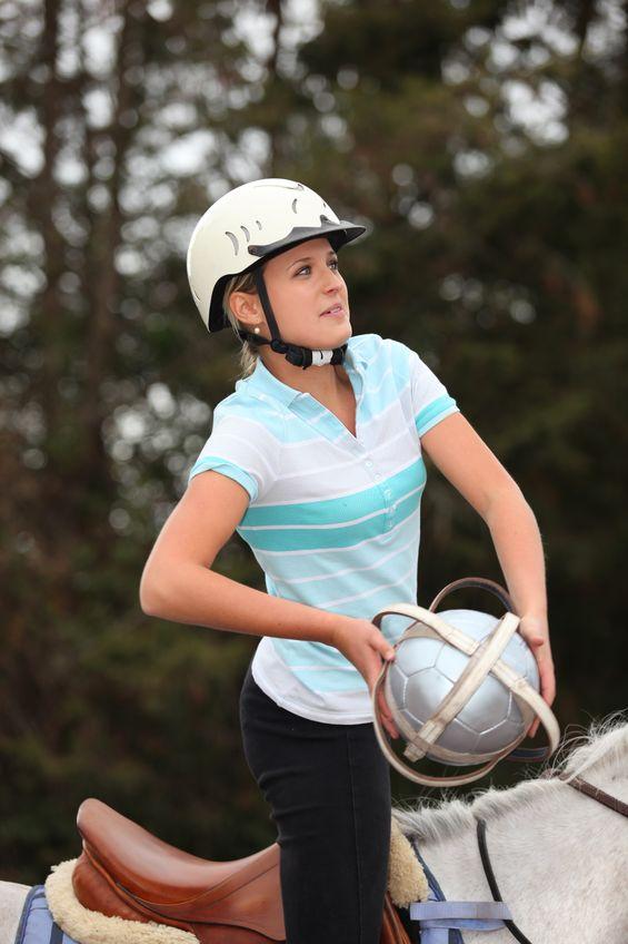 gracz horseball, fot.123rf
