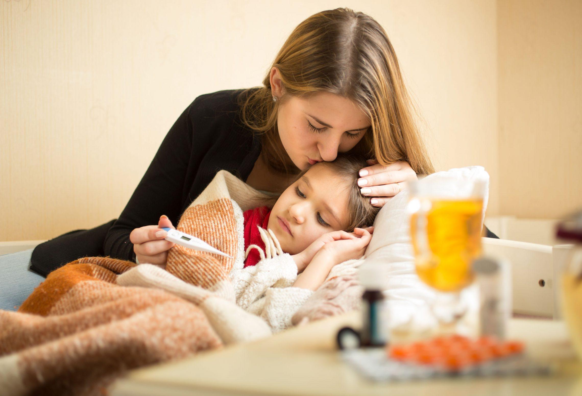 Przeziębienie u dzieci – kiedy należy udać się do lekarza?