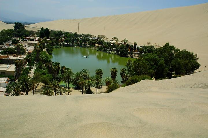 Huacachina - najsłynniejsza oaza Ameryki Południowej
