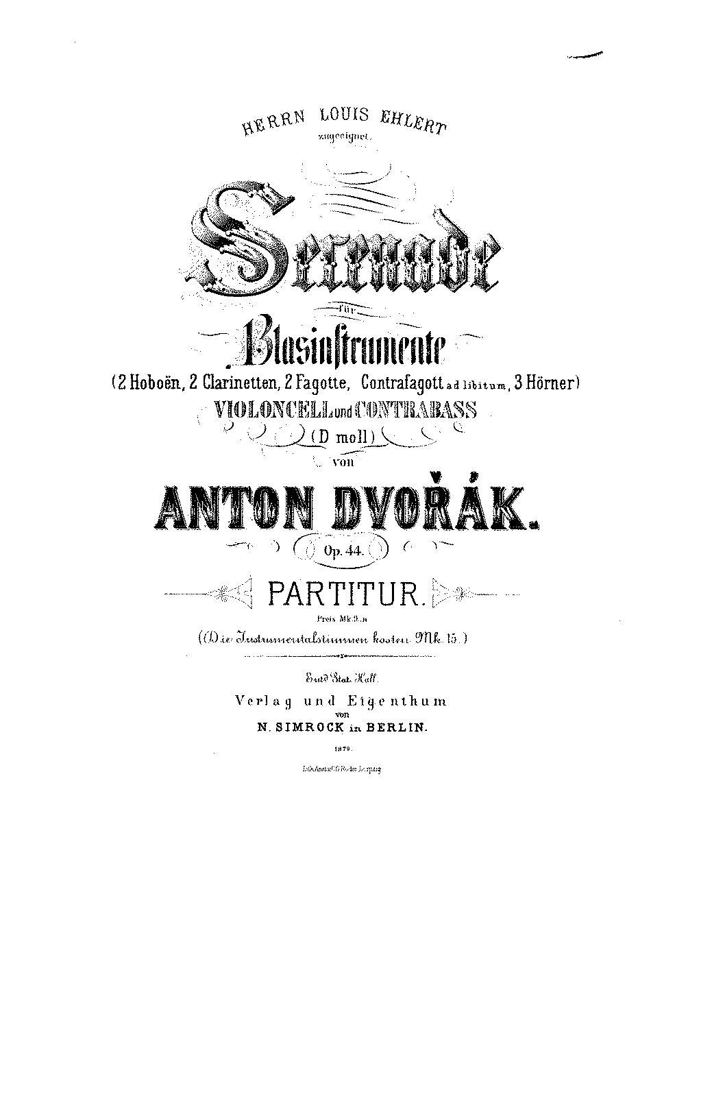 Utwór tygodnia Młodej Polskiej Filharmonii: Serenada Dvoraka