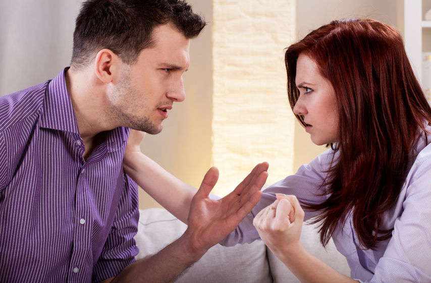 """Brak szacunku ze strony partnera - metoda """"ciosu karate"""""""