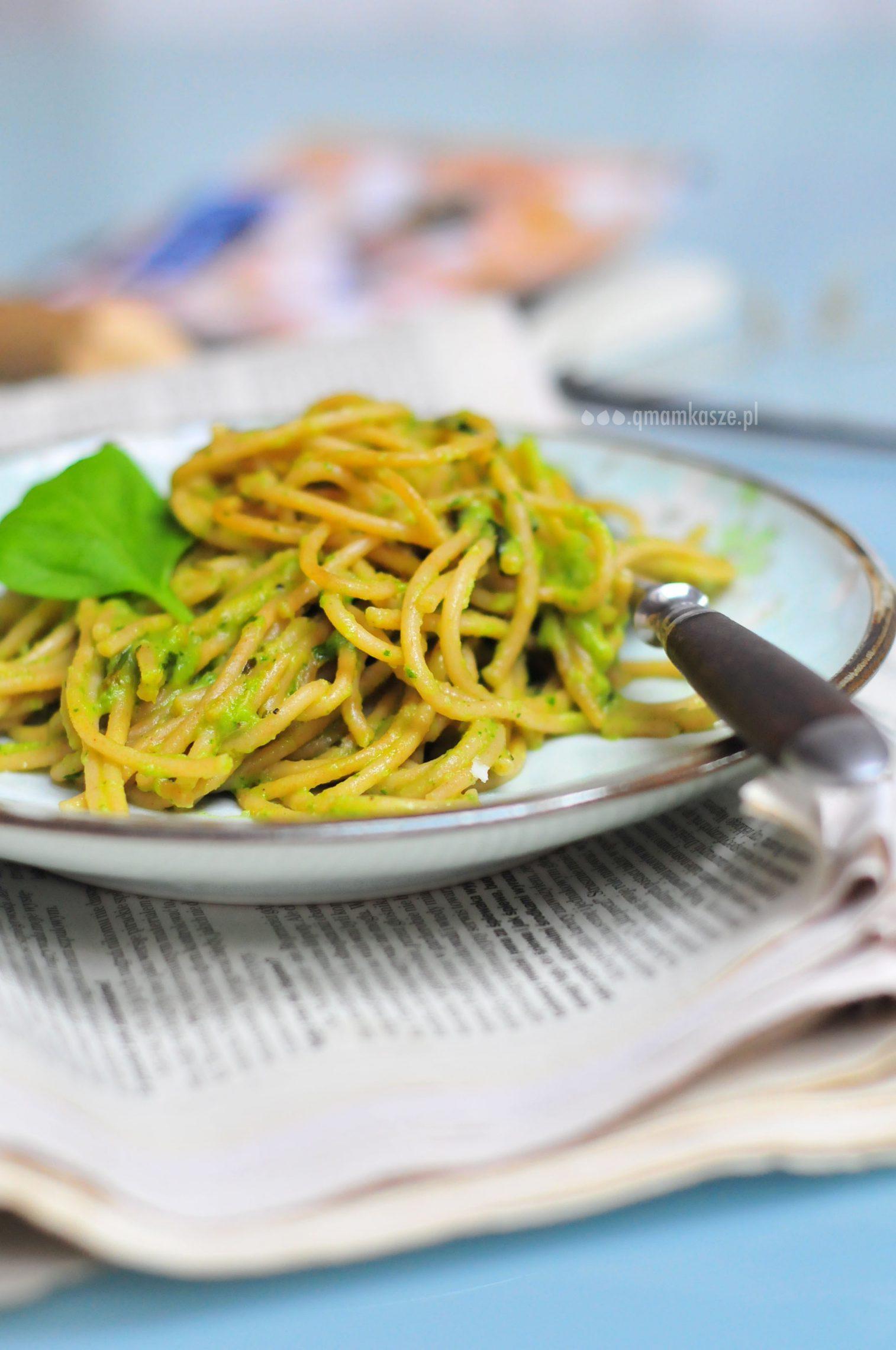 Sobczak: Razowe spaghetti z gruszkowym sosem