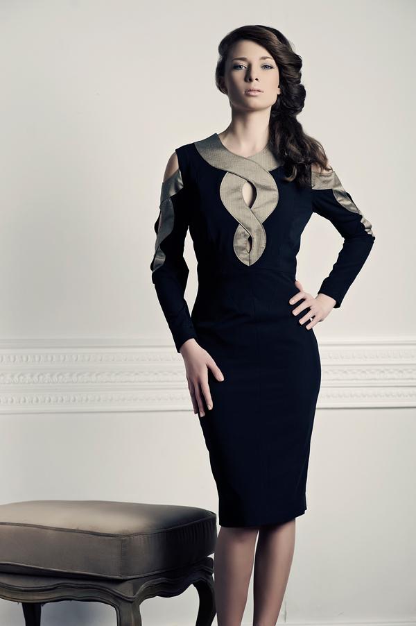 Klasyczne sukienki Agnieszki Ładno