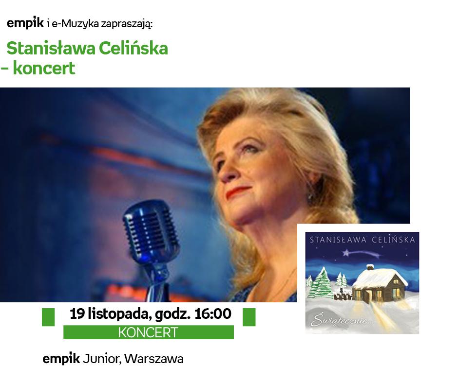 Stanisława Celińska zaśpiewa w Empiku