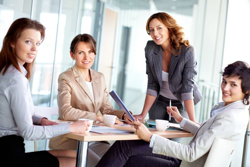 Kobiety w biznesie stawiają na współpracę