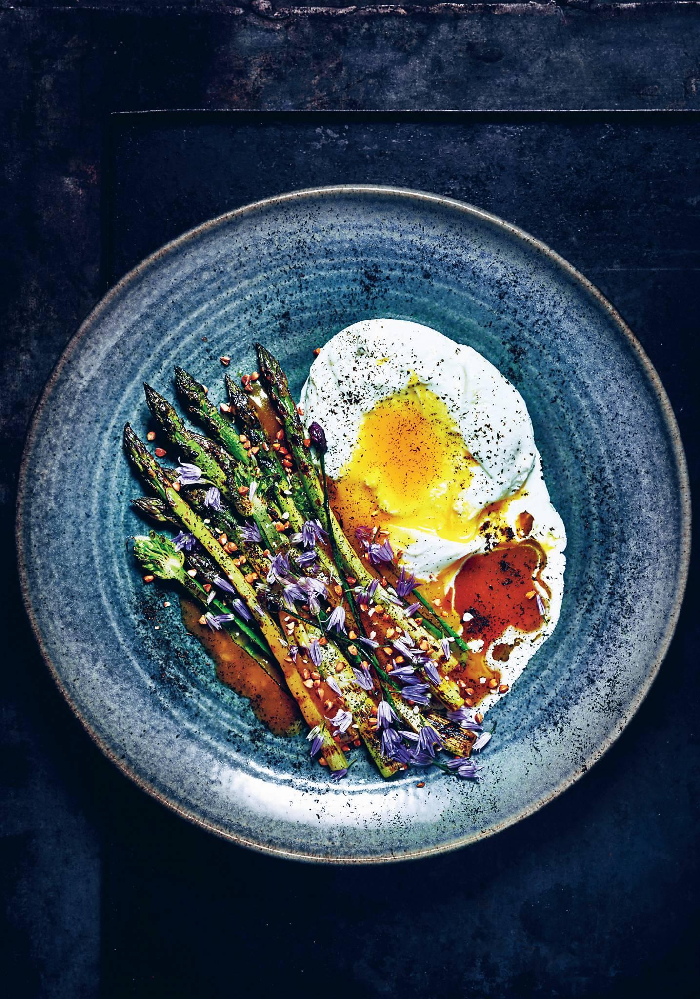 Warzywa z grilla w stylu fusion - poleca szwedzki szef kuchni Martin Nordin
