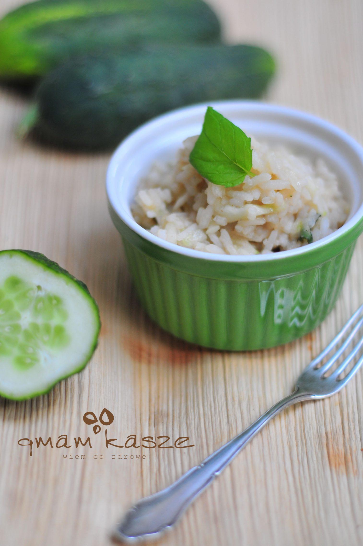 Sobczak i ogórkowy ryż