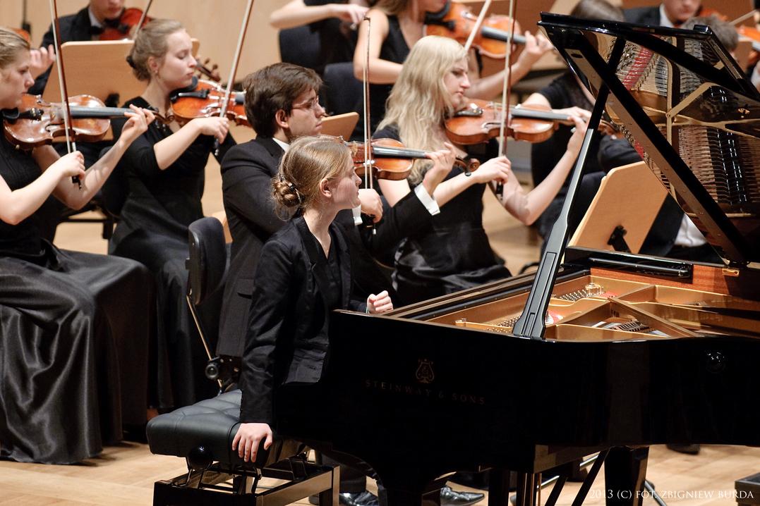 Młoda Polska Filharmonia zagrała w Częstochowie