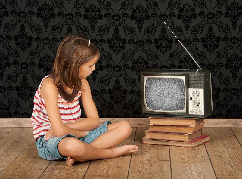 Oglądanie telewizji w dzieciństwie