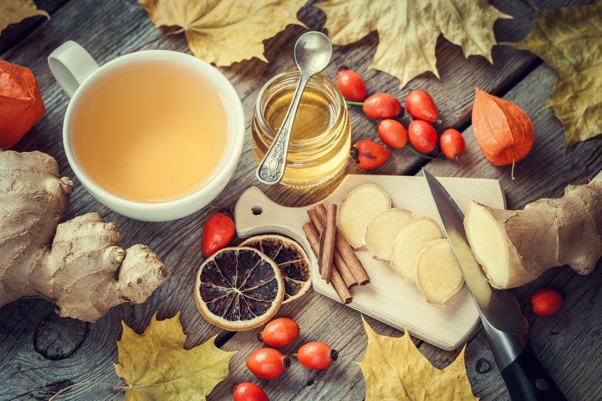 Jesienne herbaty na dobry nastrój