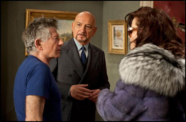 Polański, Kinsley i Boham Carter w reklamie dla Prada