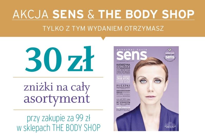 Akcja SENS & THE BODY SHOP