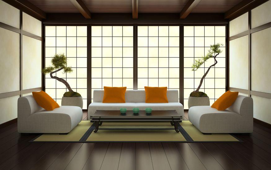 Styl japoński we wnętrzach