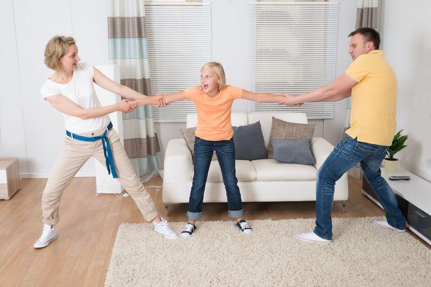 Dziecko a rozwód: Jestem kawałkiem mamy i taty