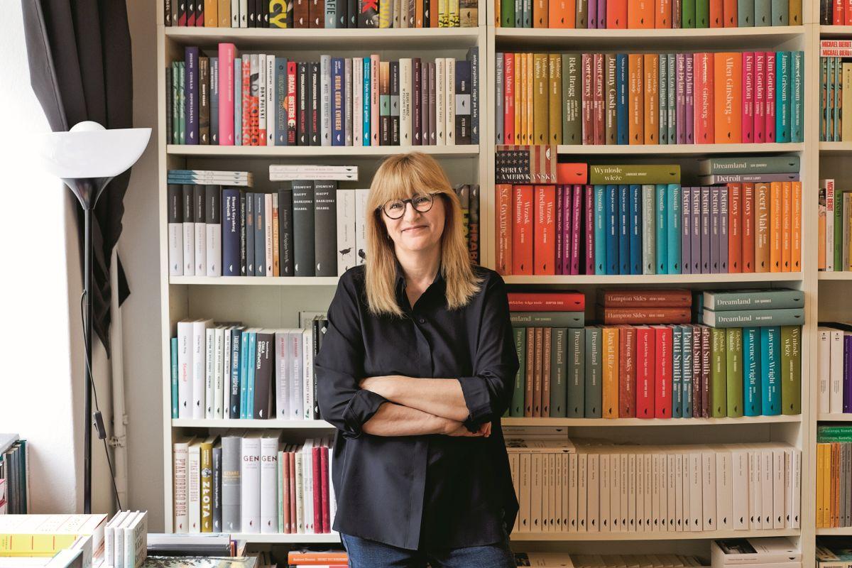 Monika Sznajdermann, pisarka i założycielka Wydawnictwa Czarne (Fot. Weronika Ławniczak)