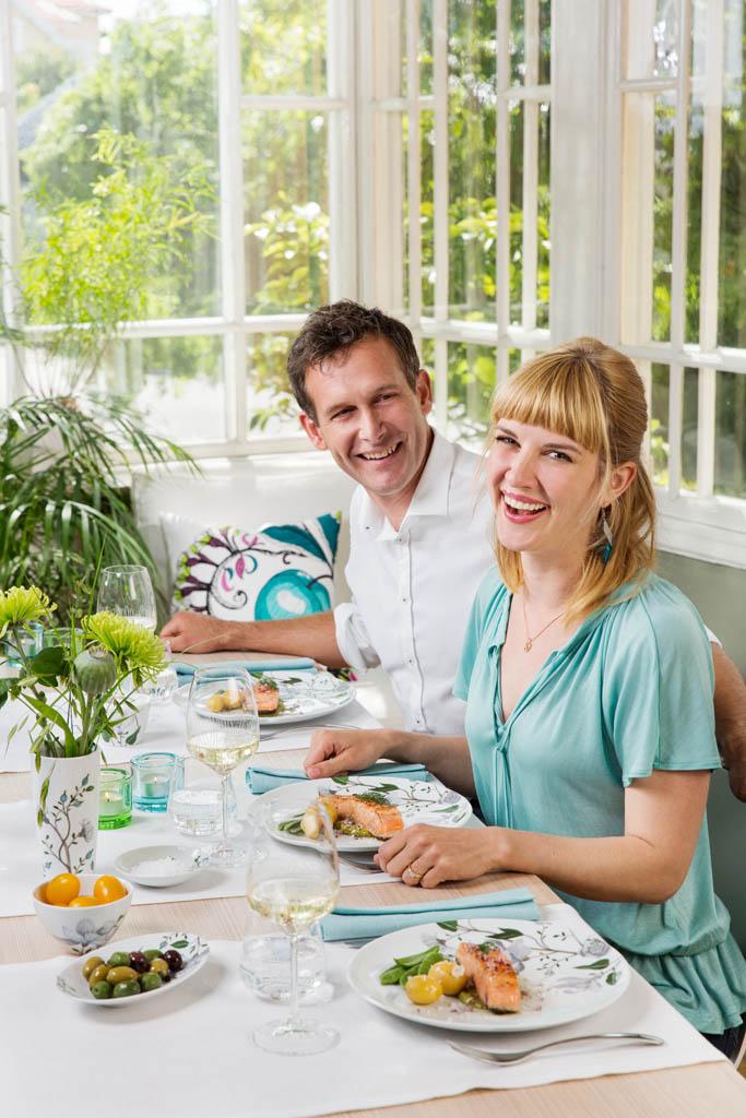 Wiosna na stole: serwis Clematis od Fyrklövern