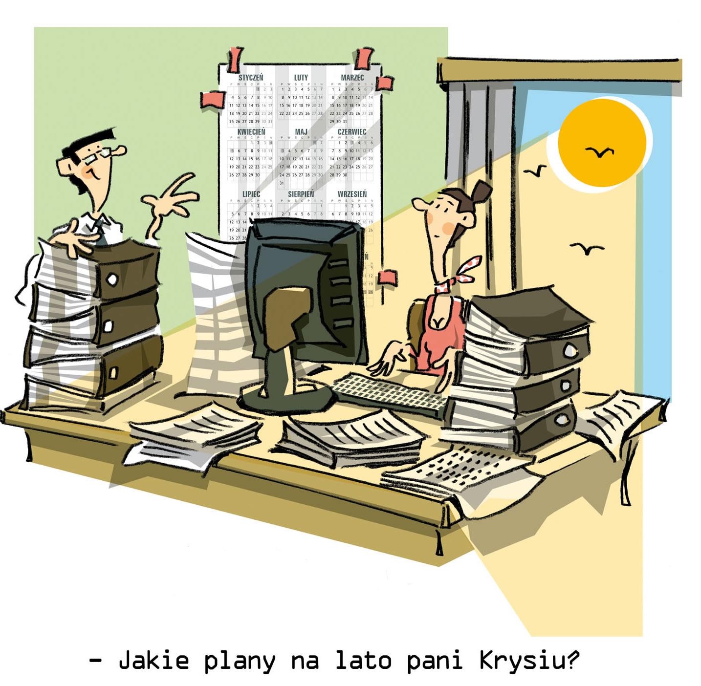 Biurowe życie