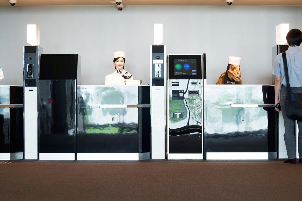Pierwszy hotel prowadzony przez roboty otwarty