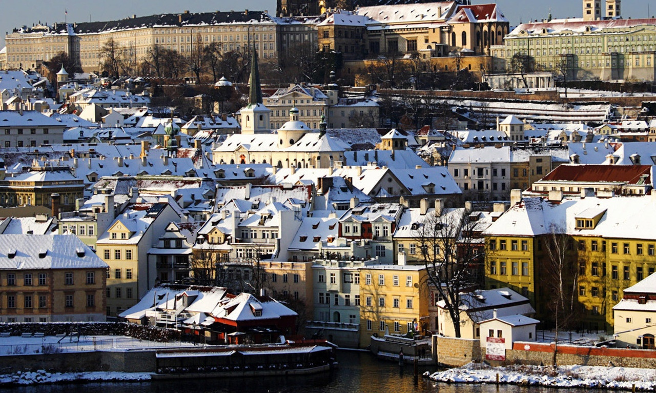 Do Pragi na święta