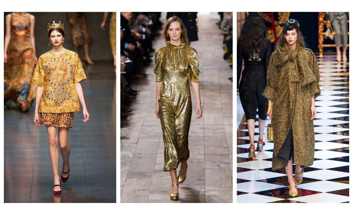 Złoto dla zuchwałych, czyli inspiracje jak nosić kolor złota