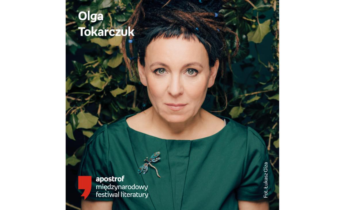 Olga Tokarczuk kuratorką Festiwalu Literackiego Apostrof
