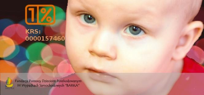 """Fundacja pomocy dzieciom poszkodowanym w wypadkach samochodowych """"Barka"""