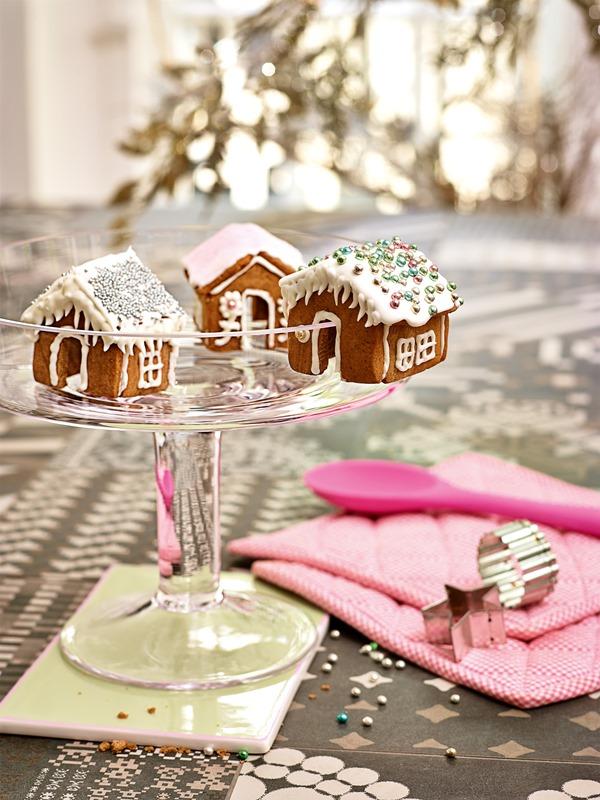 Przepisy świąteczne. Piernikowe chatki