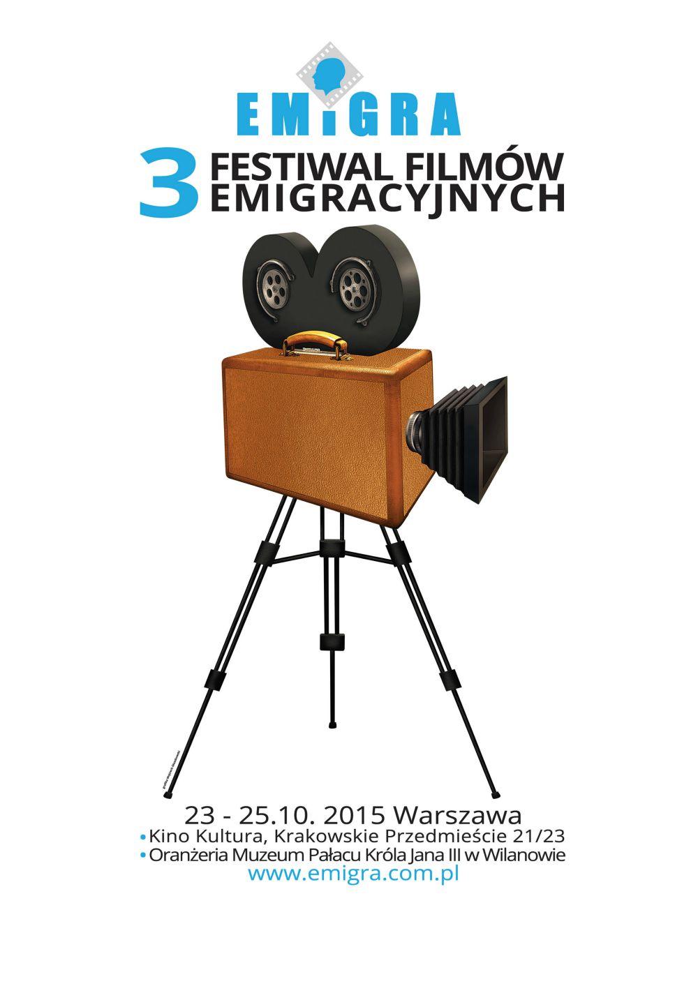 Zgłoszenia na Festiwal Filmów Emigracyjnych EMiGRA